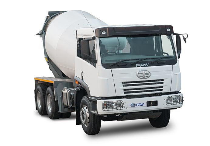 Lightweight FAW Mixer Truck
