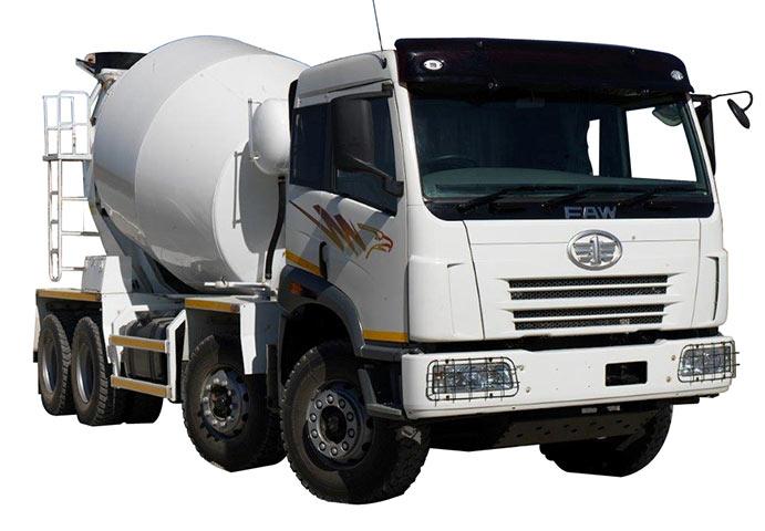 FAW Trucks mixers