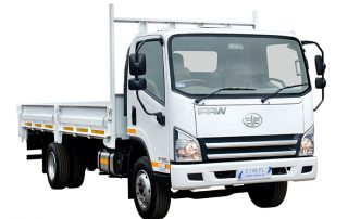 FAW freight carrier truck with attachment