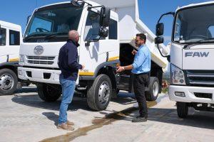 FAW Trucks Service Personnel